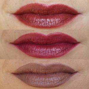 Lippen-Herbstfarben