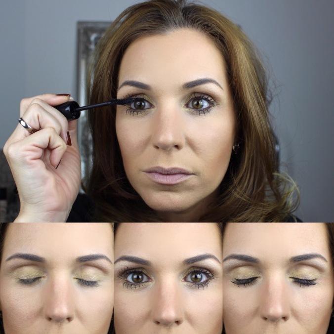 Mascara-Augen-schminken