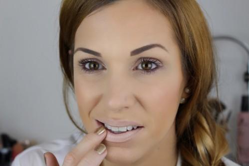 Lippen Grundieren