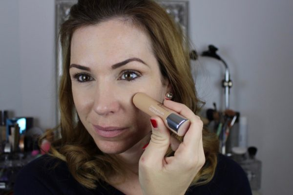Clinique Chubby in the Nude Foundation Stick - anwendung