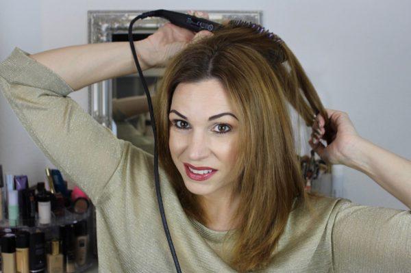 Dafni – Hair Straightening Ceramic Brush