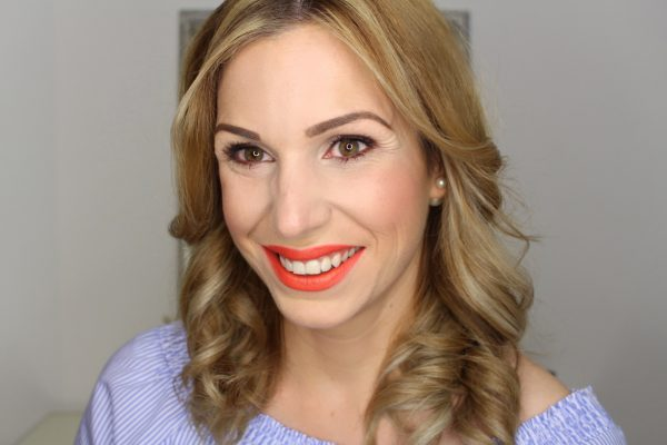 Finish Sommer Make-up Trendfarbe Orange