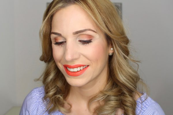 Titelbild Sommer Make-up Trendfarbe Orange