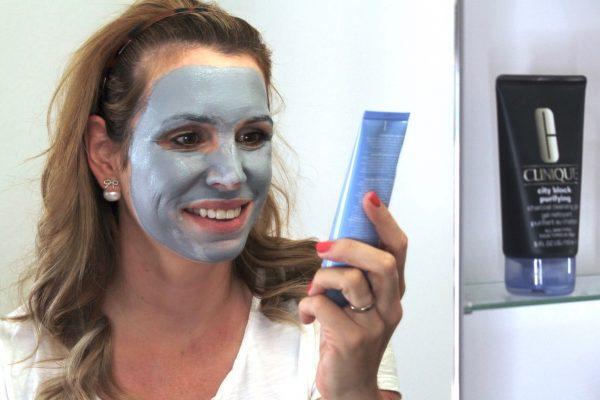 Wirkung Clinique City Block Detox - Charcoal Clay Mask + Scrub