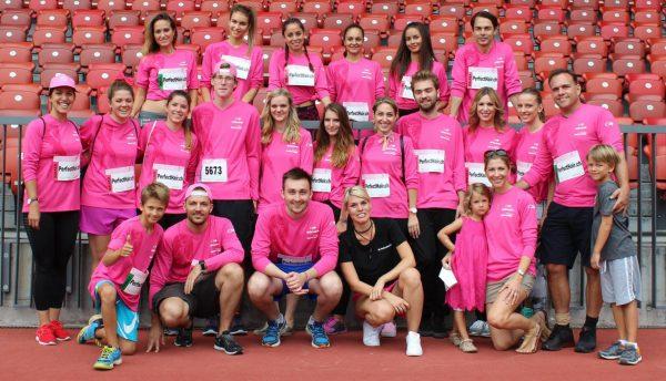 PerfectHair.ch Team am Pink Ribbon Walk 2016