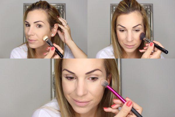 Make-up Tutorial konturieren und Blush auftragen