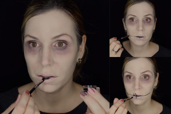 lippen-mit-gel-eyeliner-halloween