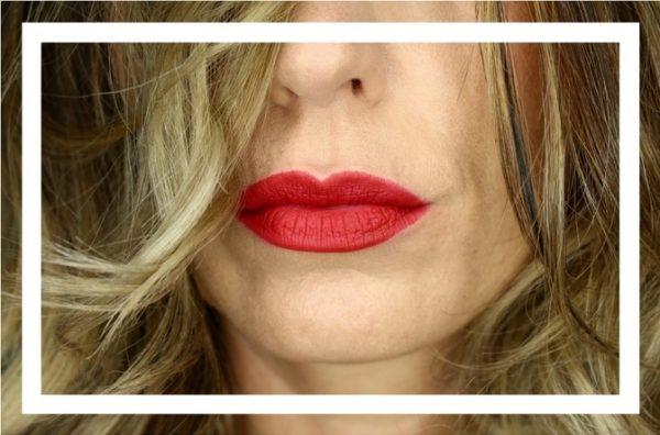 Rote Lippenstift