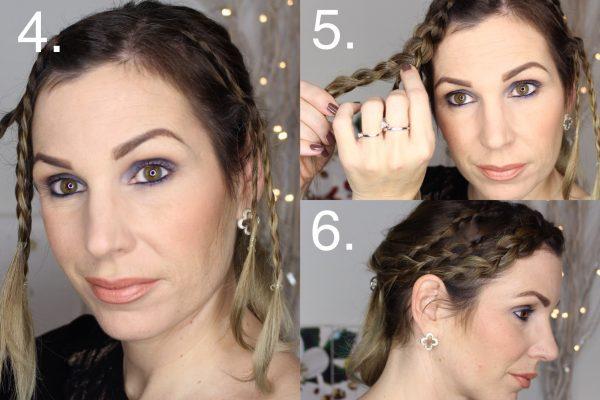 Christmas Styling Für Mittellange Haare Toujoursstylecom