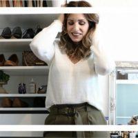 Paperbag-Pants: Diese Hose schummelt eine schmale Taille