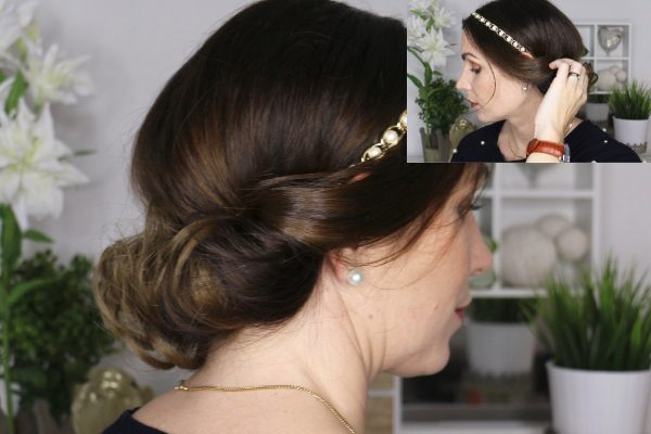 Festliche Haarband Frisur Toujoursstyle Com