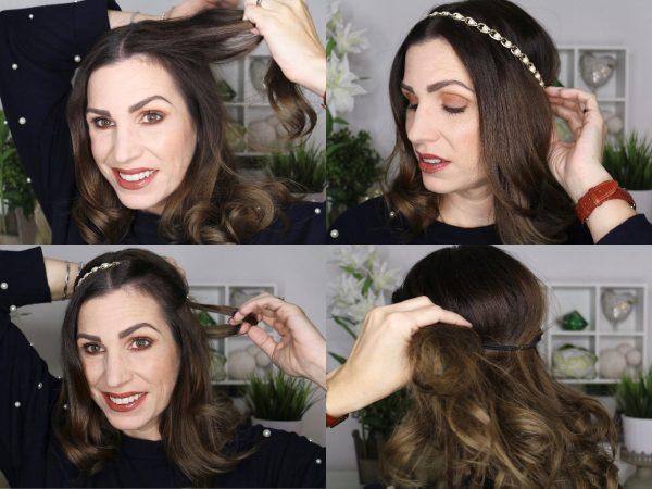 Festliche Haarband Frisur Toujoursstylecom