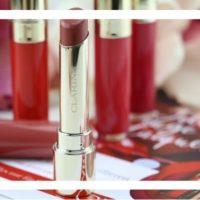 Brillante Lippen mit den neuen Clarins Joli Rouge Lacquer